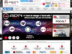ADN Webdesign e-commerce Auto